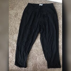 Old Navy 1X drawstring black pants